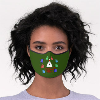 The Ghost of Christmas Presents Funny Premium Face Mask