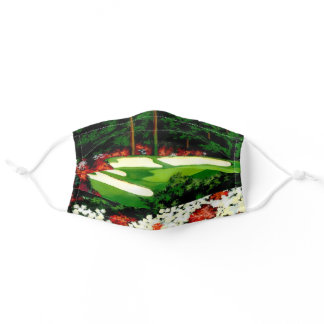 The Greens, golf course Adult Cloth Face Mask