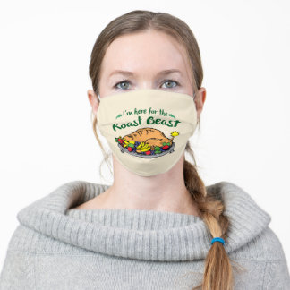 The Grinch | I'm Here for the Roast Beast Adult Cloth Face Mask