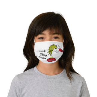 The Grinch | Stink Stank Stunk 2020 Kids' Cloth Face Mask