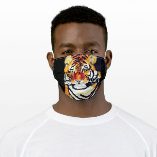 THE INDIAN TIGER ADULT CLOTH FACE MASK