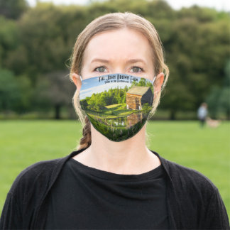 The John Brown Farm in the Adirondacks  NY Adult Cloth Face Mask