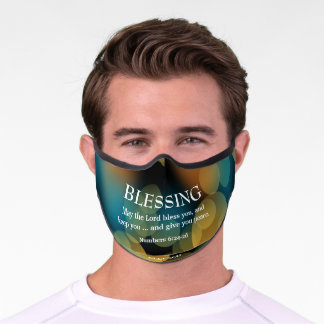 THE LORD BLESS YOU Numbers 6:24-26 BLESSING Premium Face Mask