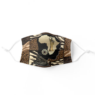 The Motherland Africa Adult Cloth Face Mask