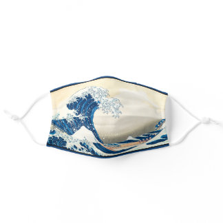 The Wave Japanese Art History Face Mask