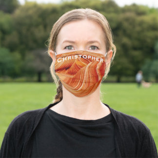 The Wave Name Face Mask