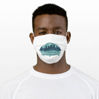 The winter harmony adult cloth face mask