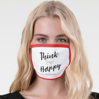 Think Happy Face Mask