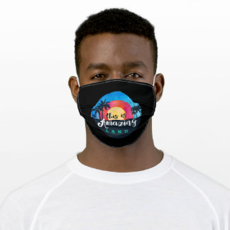 This Is Amazing Land Adult Cloth Face Mask
