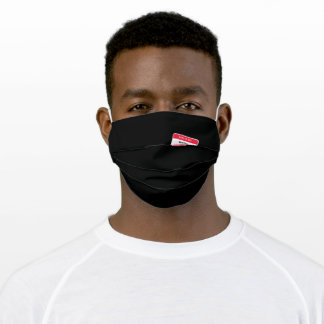 This Is My Bowling Uniform Adult Cloth Face Mask