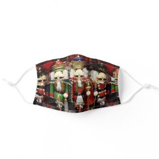 Three Wise Crackers - Nutcracker Soldiers Adult Cloth Face Mask