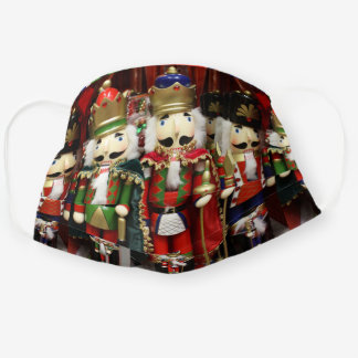 Three Wise Crackers - Nutcracker Soldiers Cloth Face Mask