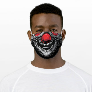 Thug Skull  Halloween Face Mask Scary Teeth