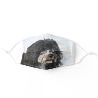 Tibetan Terrier Adult Cloth Face Mask