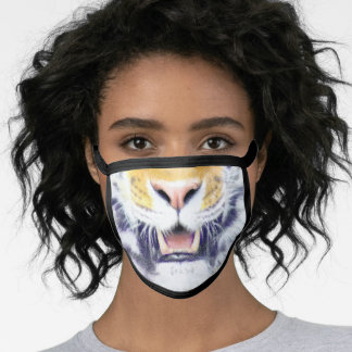 Tiger Smile Face Mask