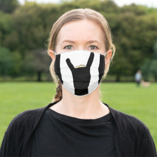 Timothy Krane Black Tape Hand Mask