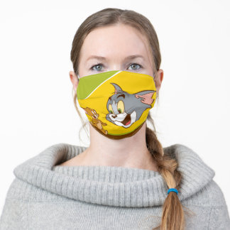 Tom And Jerry Adult Cloth Face Mask