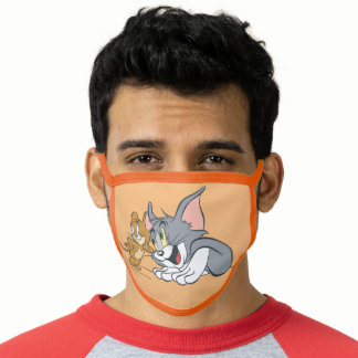 Tom and Jerry Best Buds Face Mask