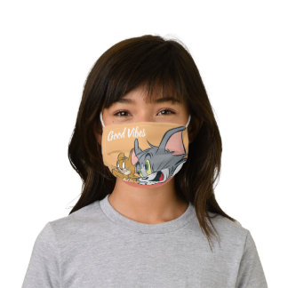 Tom and Jerry Best Buds Kids' Cloth Face Mask