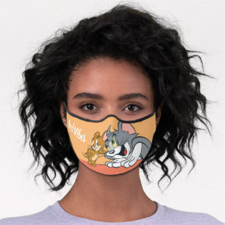 Tom and Jerry Best Buds Premium Face Mask