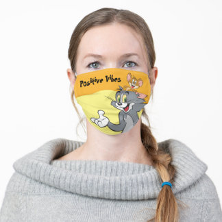 Tom and Jerry Pair Adult Cloth Face Mask