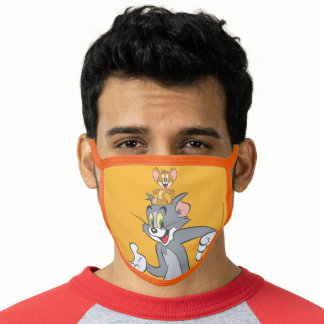 Tom and Jerry Pair Face Mask