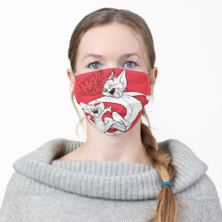 Tom And Jerry | Tom And Jerry Laughing Adult Cloth Face Mask
