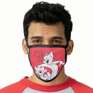 Tom And Jerry | Tom And Jerry Laughing Face Mask