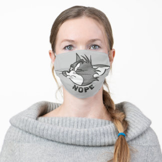 Tom And Jerry | Tom Says Nope Adult Cloth Face Mask