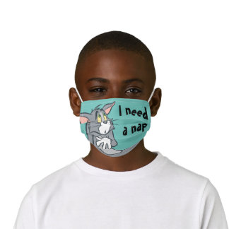 Tom Sulking Kids' Cloth Face Mask