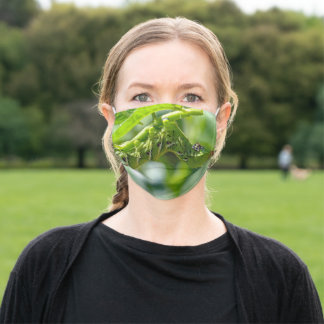 Tomato Hornworm Adult Cloth Face Mask