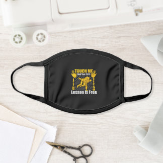 Touch Me Your First Jiu Jitsu Lesson Free Face Mask