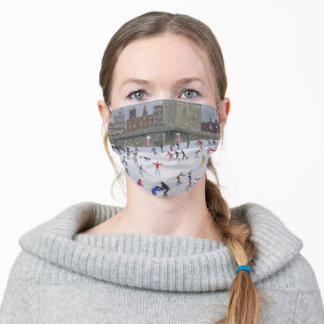 Tower of London Ice Rink 2015 Adult Cloth Face Mask