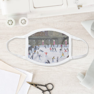 Tower of London Ice Rink 2015 Face Mask