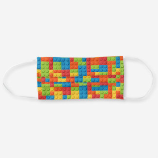 Toy Bricks Colorful Cloth Face Mask