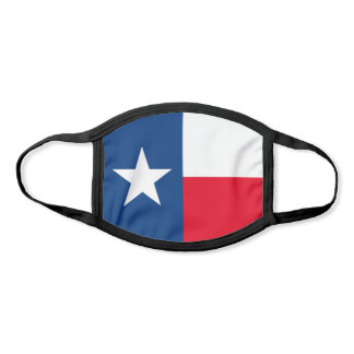 Traditional Texas Flag Face Mask
