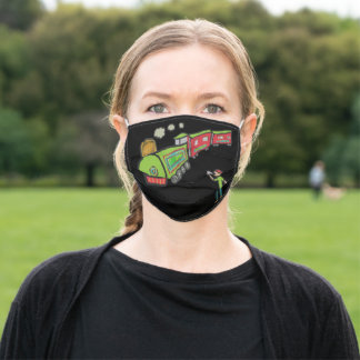Trainspotting Adult Cloth Face Mask