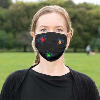 Tree Frogs Adult Cloth Face Mask