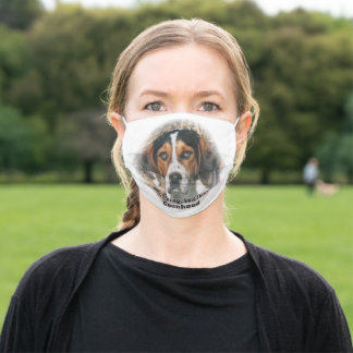 Treeing Walker Coonhound Adult Cloth Face Mask