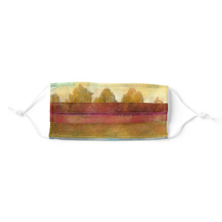Trees in a Row Adult Cloth Face Mask