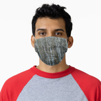 Trees, Seven Loch Wetlands Glasgow Adult Cloth Face Mask