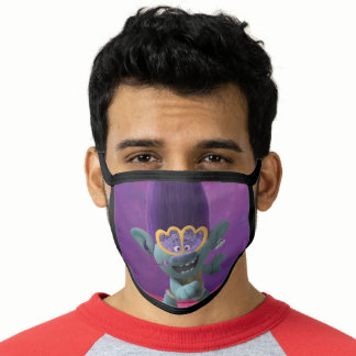 Trolls World Tour   Branch On The Mic Face Mask