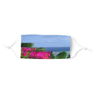 Tropical Hawaii Adult Cloth Face Mask