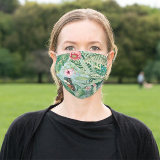 Tropical Paradise Adult Cloth Face Mask