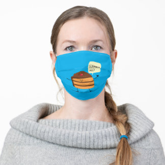 Trouble Baker Face Mask