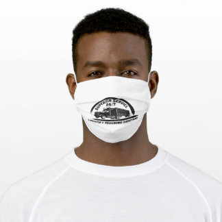 Trucking company adult cloth face mask
