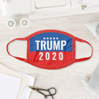 Trump 2020 Bold Patriotic Face Mask