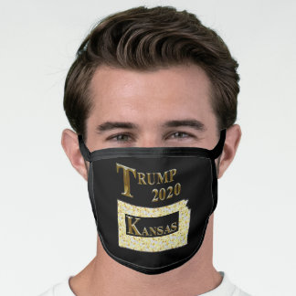 TRUMP 2020 KANSAS FACE MASK