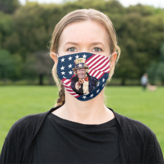 Trump/Uncle Sam Campaign Rally Mask ~