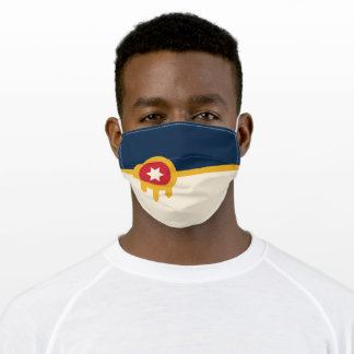 Tulsa Flag Face Mask